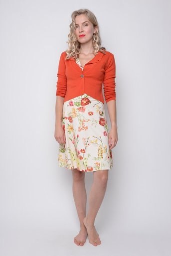 Cardi Kelly orange