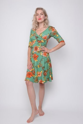 Dress Angelina exotic green vi