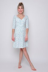 Angelina dots viscose natural