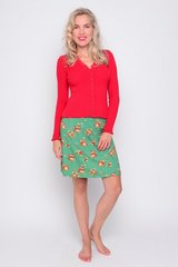 Skirt Funny poppy flower green